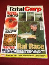 TOTAL CARP - RAT RACE - JUNE 2001