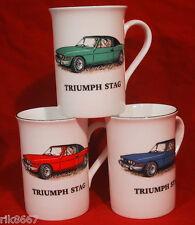 1 Triumph Stag coche Inglés Porcelana Fina Taza Taza