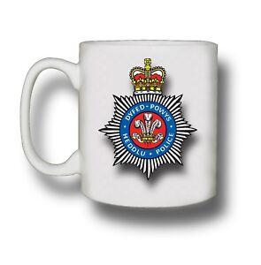 Police Mug, Personalised Police Mug any force badge Add Name and collar number