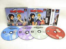 PS1 HELIX FEAR EFFECT with SPINE CARD * Playstation Japan Game p1