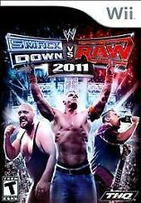 WWE SMACKDOWN VS RAW 2011 Nintendo Wii Game