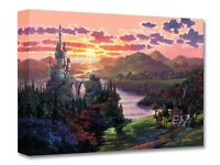 The Beauty in Beast's Kingdom - Rodel Gonzalez- Treasure On Canvas Disney