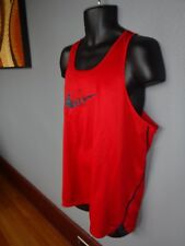 Nike PRE LIVES RUNNING Singlet XL mens tank top PREFONTAINE track Race DRI-FIT