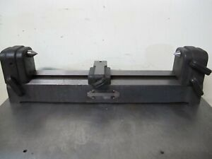 """BARBER COLMAN BENCH CENTERS BC 100   18-1/4"""" BETWEEN CENTERS"""