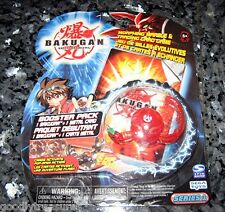 RARE OOP Sealed Bakugan CLASSIC B1 BOOSTER PACK Red Pyrus TRANSLUCENT CENTIPOID