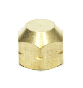 1/4 Female Npt Pipe End Cap Brass Fitting Fuel Air Water Oil Gas Vacuum