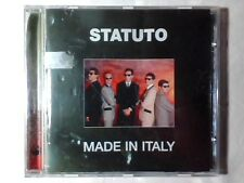 STATUTO Made in Italy cd NUOVO