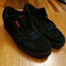 Vintage 90s Vans Snooka Black And Red Skateboarding Shoes Size 12