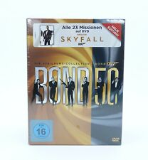 James Bond 007 Jubiläums-Collection 50 Jahre Box Set 23 DVD Skyfall - NEU & OVP