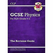 New Grade 9-1 GCSE Physics: AQA Revision Guide with Online Edition by CGP Books (Paperback, 2016)