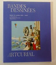 Catalogue BD nov 2019 Artcurial - BILAL DRUILLET PROBST TEZUKA LEDROIT SEMPE