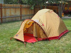 moss astraldome gt tent 3-4 Person 4 Season Tent Rare