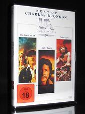 DVD CHARLES BRONSON - BEST OF - GESETZ BIN ICH + KALTER HAUCH + CHATOS LAND *NEU