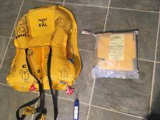 NOS Vintage Eastern Airlines Sealed Expired Inflatable Life Vest Emergency AV-35