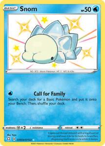 Snom SV033/SV122 SWSH Shining Fates Shiny Rare Pokemon Card MINT