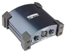 LD Systems LDI 02 Aktive DI-Box interne Batterie 1 Kanal Groundliftschalter XLR