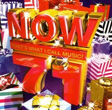 NOW  71 - THATS WHAT I CALL MUSIC / VARIOUS ARTISTS  -  2 CD SET