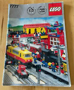 Lego 7777 Eisenbahn Ideen Buch/ Trains Ideas Book