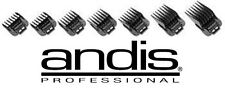 Andis ML,GC,SPEED FADE MASTER PRO CLIPPER Blade Clip On Guide Guard Combs Set