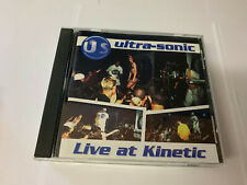 Ultra-Sonic – Live At Kinetic Central Station CSR CD 5033 5021456200252 NM/EX