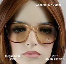 ELITE-SENIOR Amber Fade - NOS Post 70's Vintage eyeglasses & Case
