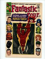 Fantastic Four #54, FN 1966 Early Inhumans, Black Panther app