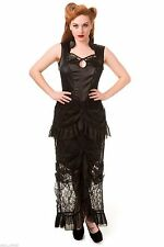 Full Length Goth Dresses Plus Size for Women