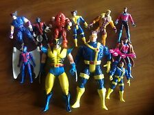 Marvel X-Men action figures lot of 11 sold as is