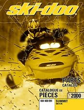 Ski-Doo parts manual catalog book 2000 SUMMIT 800 H.M.
