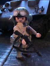 PLAYMOBIL CUSTOM US SUB.ARMORED CAVALRY(FRANCE-1944) REF-0173 BIS