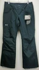 Under Armour Womens Ski Snowboard Pants Medium Storm 3 Coldgear Black Waterproof