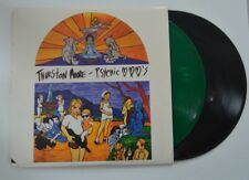 thurston moore 2lp psychic hearts   green/black vinyl      vg+/m-