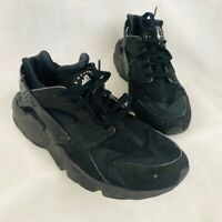 Nike Mens Air Huarache Running Shoes Black 318429-003 Lace Up Low Sneakers 11 M