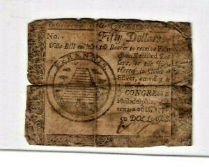 "$50 ""OLD COLONIAL"" 1776  RARE!! $45 ""OLD COLONIAL"" 1776 ""OLD COLONIAL"" RARE!!!"