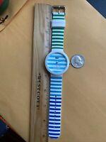 Lacoste LC.46.129.2224 watch Quartz Analog Unisex Watch Blues-Green -New Ba
