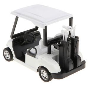 Druckguss Metall Golfwagen Modell Spielzeug Maßstab 1:20 Zurückziehen