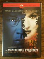 THE MANCHURIAN CANDIDATE - JONATHAN DEMME DENZEL WASHINGTON MERYL STREEP - DVD