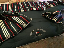 Tommy Hilfiger Forest Green Striped Full/Queen Comforter  FREE SHIP
