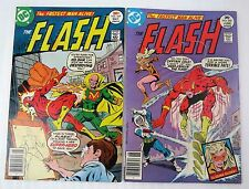 Flash 249 + 250 Dc 1977 Both Very Nice Examples Buyer Gets Both