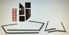 SUZUKI RG250 X7 250 GT250 GT250E RESTORATION DECAL SET WHITE MODEL