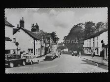 Cheshire PRESTBURY shows BROMLEY GROCER & BUTCHER VAN c1960's RP Postcard