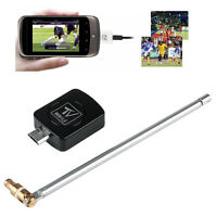 Micro USB DVB-T Digital TV Tuner Receiver For Android Smartphone Tablet PC Black