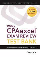 Wiley CPA test Bank 2021 FAR, BEC, REG, or AUD