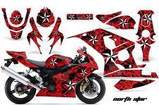 AMR Racing Graphic Kit Wrap Part Suzuki GSXR 600/750 Street Bike 04-05 NRTHSTR R