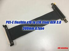 PCIE PCI-Express16x Extension Adapter Riser Cable,GEN.3,300mm A.type