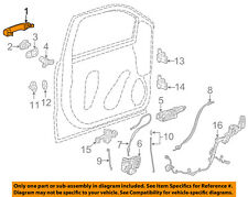 GM OEM-Outside Exterior Door Handle 22923605