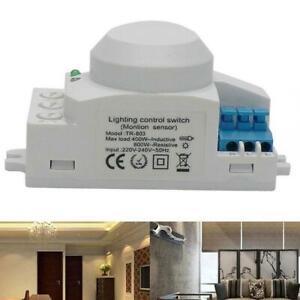 Mikrowellensensor Schalter 5,8 GHz Radar 360 Grad Lichtkörper Bewegungsmelder