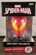 Marvel - Spiderman - Die Cast Helmet - Iron Spider - Brand New - Spider-Man