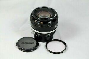 Nikon Nikkor Ai 50mm f/1.2 manual Focus Prime Lens
