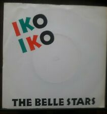 "BELLE STARS Iko Iko 7"" VINYL UK Stiff 1982 B/W The Reason (Buy150) Pic Sleeve"
